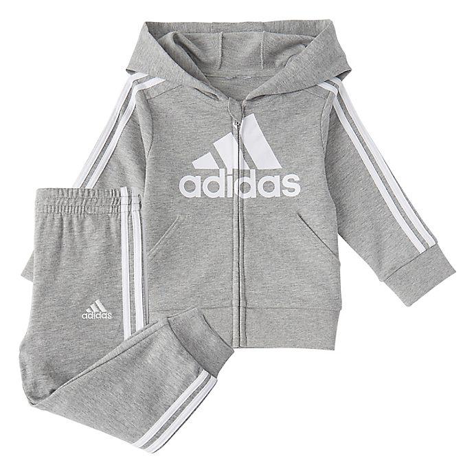 Alternate image 1 for Adidas® Essentials FT Set in Grey