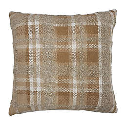 Bee & Willow™ Home Checkered Square Throw Pillow in Neutral