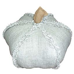 Bee & Willow™ Home Medium Autumn Pumpkin-Shaped Round Throw Pillow in Sage
