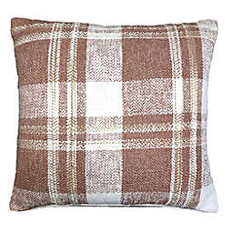 Bee & Willow™ Home Checkered Square Throw Pillow in Spice