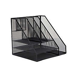 Mind Reader 8-Compartment Mesh Desk Organizer