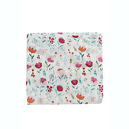 Loulou Lollipop Rosey Bloom Muslin Swaddle Blanket
