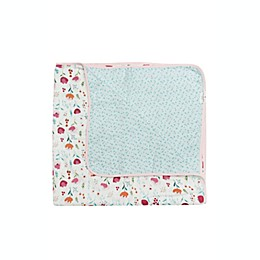 Loulou Lollipop® Rosey Bloom Rayon Muslin Quilt