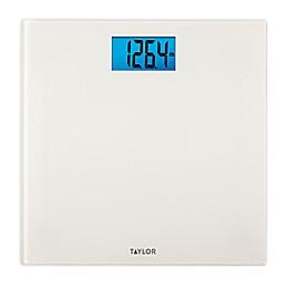 Taylor Digital Bath Scale in Bright White Finish