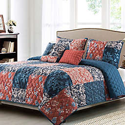 B. Smith® Kiki 5-Piece Reversible Queen Quilt Set