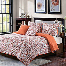 B. Smith Stella 5-Piece Queen Quilt Set in Tan