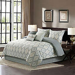 B. Smith Betty 7-Piece Queen Comforter Set in Natural