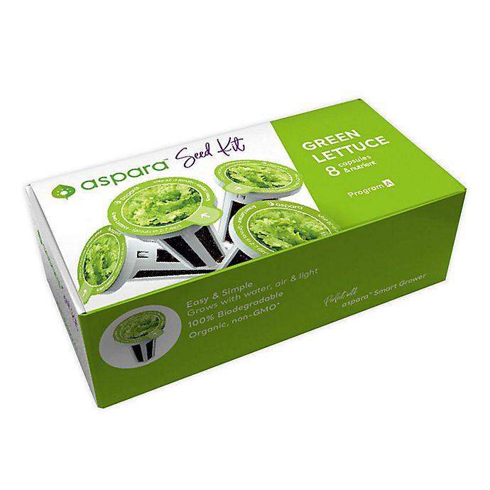 Alternate image 1 for aspara Green Lettuce 8 Capsule Seed Kit