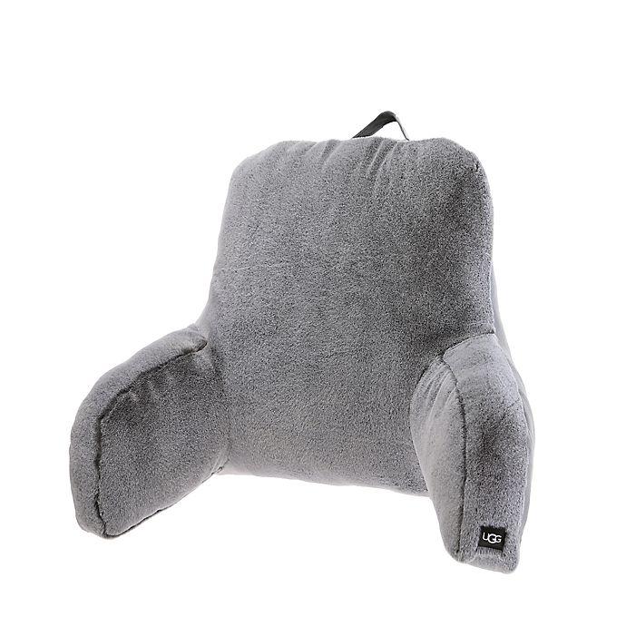Alternate image 1 for UGG® Dawson Tipped Faux Fur Backrest Pillow