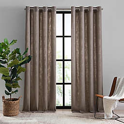 Mercantile Hawthorne Grommet Light Filtering Lined Window Curtain Panel