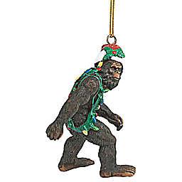 Design Toscano Bigfoot Yeti Holiday Ornaments (Set of 3)