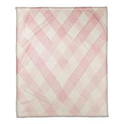 Blush Woven Rug Pattern 50x60 Throw Blanket