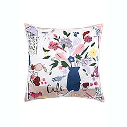Kate Spade New York® Cafe Scene Square Throw Pillow