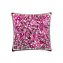 kate spade new york Dash Dot Inksect Square Throw Pillow in Pink