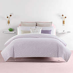 kate spade new york Breeze Block 2-Piece Reversible Comforter Set in Lavender