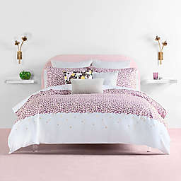 kate spade new york Carnation 2-Piece Reversible Comforter Set in Lavender