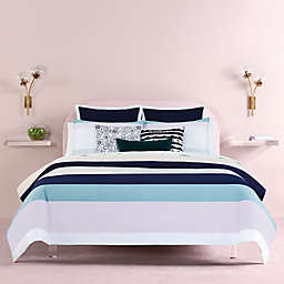 kate spade new york Dusk Stripe™ 2-Piece Reversible Twin XL Comforter Set