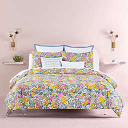 kate spade new york Floral Dots 3-Piece Reversible Duvet Cover Set