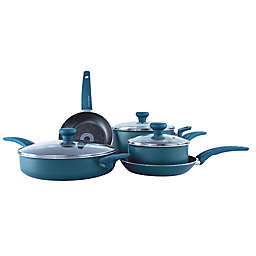 Taste of Home® Nonstick Aluminum 8-Piece Cookware Set in Green