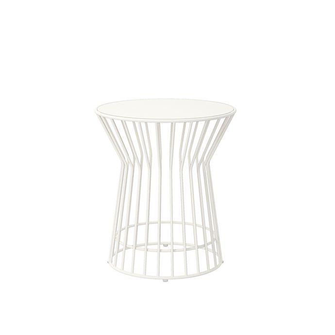 Alternate image 1 for Novogratz Roberta Outdoor/Indoor Table in White