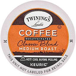 Twinings® of London® Decaffeinated Classic Medium Roast Coffee Keurig® K-Cup® Pods 24-Count