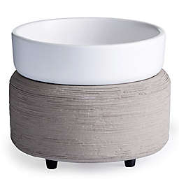2-in-1 Classic Fragrance Warmer in Grey Texture