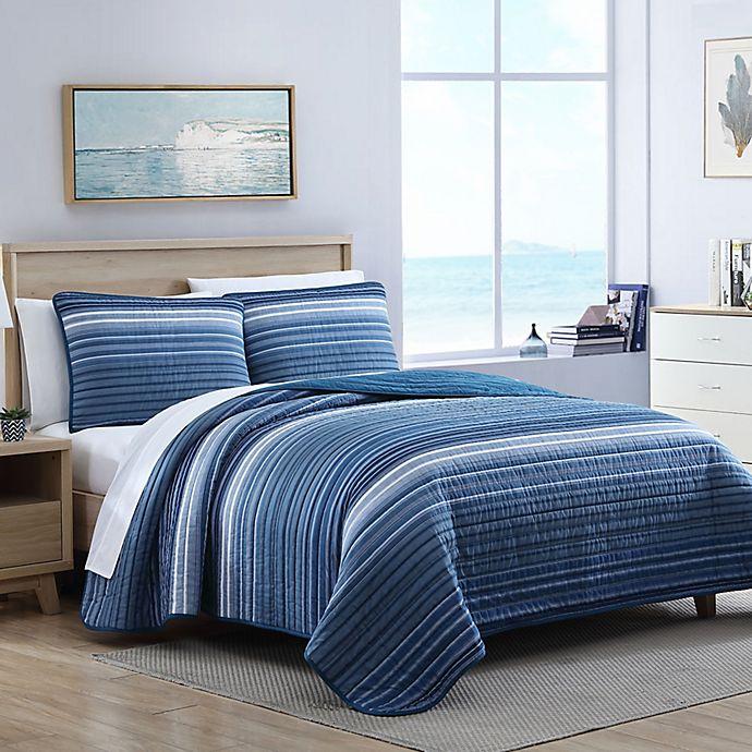Alternate image 1 for Nautica® Coveside 3-Piece Quilt Set