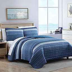 Nautica® Coveside 3-Piece Quilt Set