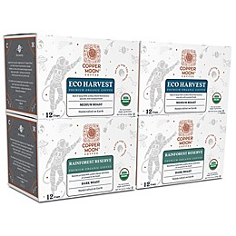 Copper Moon® Coffee Organic Variety Pack Premium Blend Single Serve Pods 48-Count