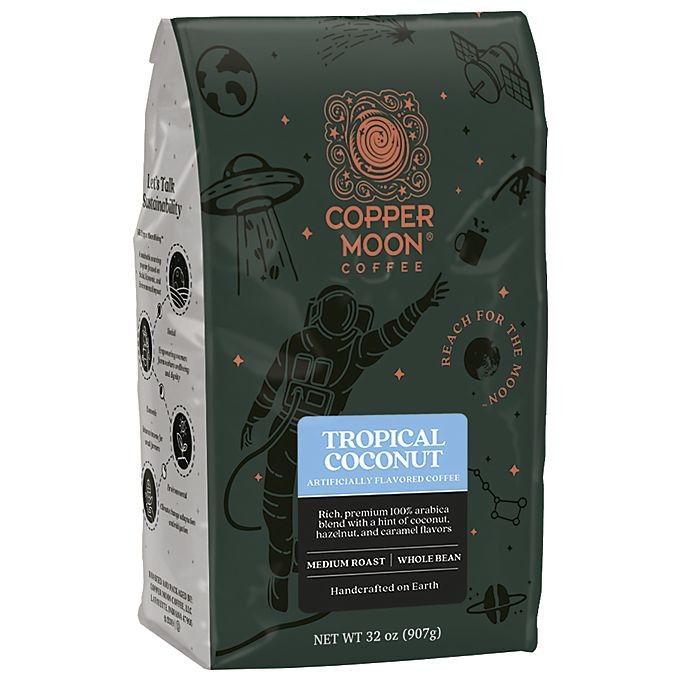 Alternate image 1 for Copper Moon® Coffee Tropical Coconut Blend 2 lb. Whole Bean Coffee