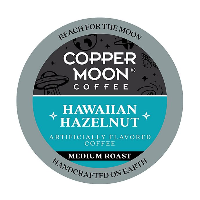 Alternate image 1 for Copper Moon® Coffee Hawaiian Hazelnut Pods for Single Serve Coffee Makers 36-Count