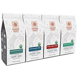 Copper Moon® Coffee 4-Pack 12 oz. Organic Variety Pack Premium Blend Ground Coffee