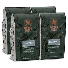 Copper Moon® Coffee Blast Off Blend 2 lb. Whole Bean Coffee (4-Pack)
