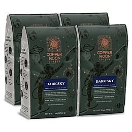 Copper Moon® Coffee Dark Sky Premium Blend 2 lb. Whole Bean Coffee (4-Pack)