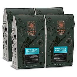 Copper Moon® Coffee Hawaiian Hazelnut 2 lb. Whole Bean Coffee (4-Pack)