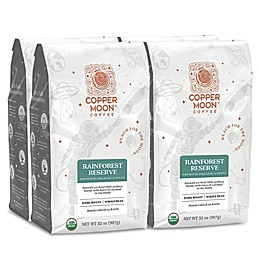 Copper Moon® Coffee Rainforest Premium Organic 2 lb. Whole Bean Coffee (4 Pack)
