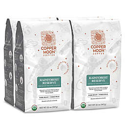 Copper Moon® Coffee Rainforest Premium Organic 2 lb. Whole Bean Coffee (4 Pack)