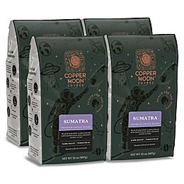 Copper Moon® Coffee Sumatra Premium Blend 2 lb. Whole Bean Coffee (4-Pack)
