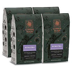 Copper Moon® Coffee Sumatra Premium Blend 2 lb. Whole Bean Coffee (4-Pack)