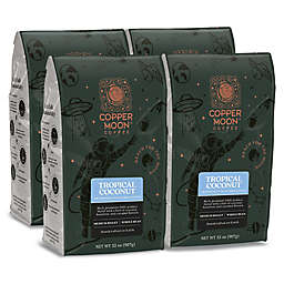 Copper Moon® Coffee Tropical Coconut Blend 2 lb. Whole Bean Coffee (4-Pack)