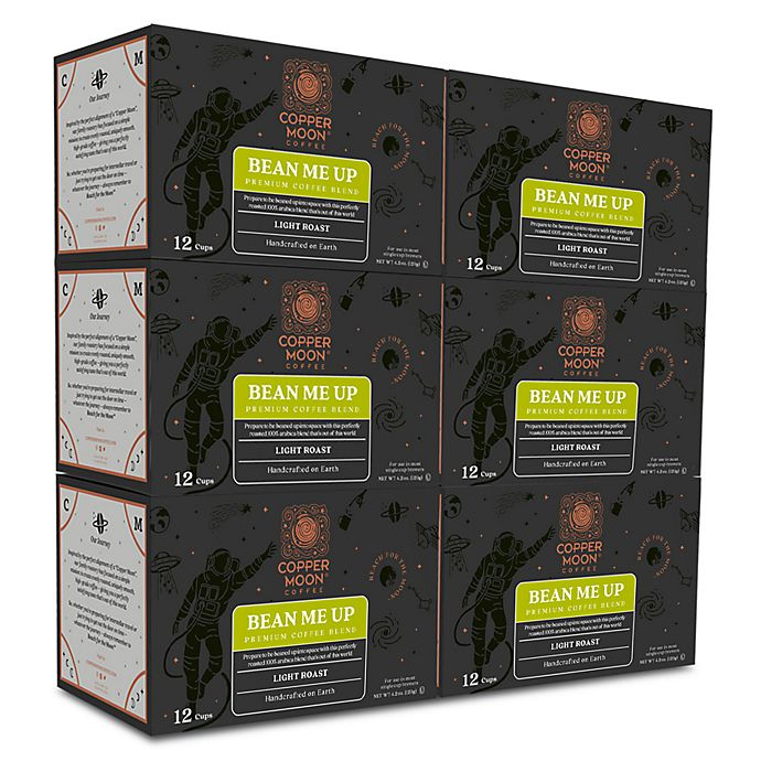 Alternate image 1 for Copper Moon® Coffee Bean Me Up Premium Blend Pods for Single Serve Coffee Makers 72-Count