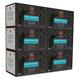 Copper Moon® Coffee Hawaiian Hazelnut Pods for Single Serve Coffee Makers 72-Count