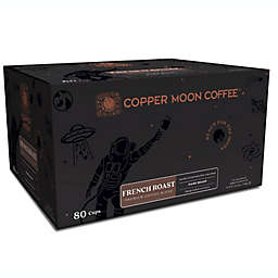Copper Moon® Coffee French Roast Premium Blend Single Serve Pods 80-Count