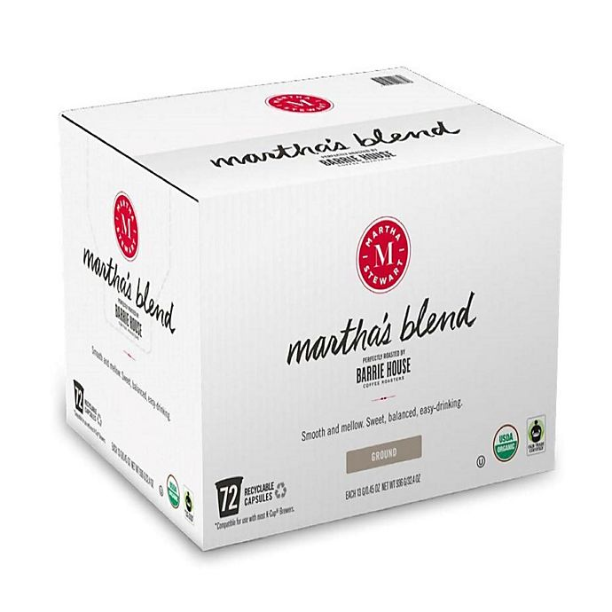 Alternate image 1 for Martha Stewart Martha's Blend Coffee Pods for Single Serve Coffee Makers 72-Count