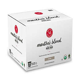 Martha Stewart Martha's Blend Coffee Pods for Single Serve Coffee Makers 72-Count