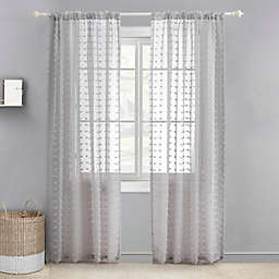 Levtex Baby® Tufted Overlay 84-Inch Window Curtain Panel