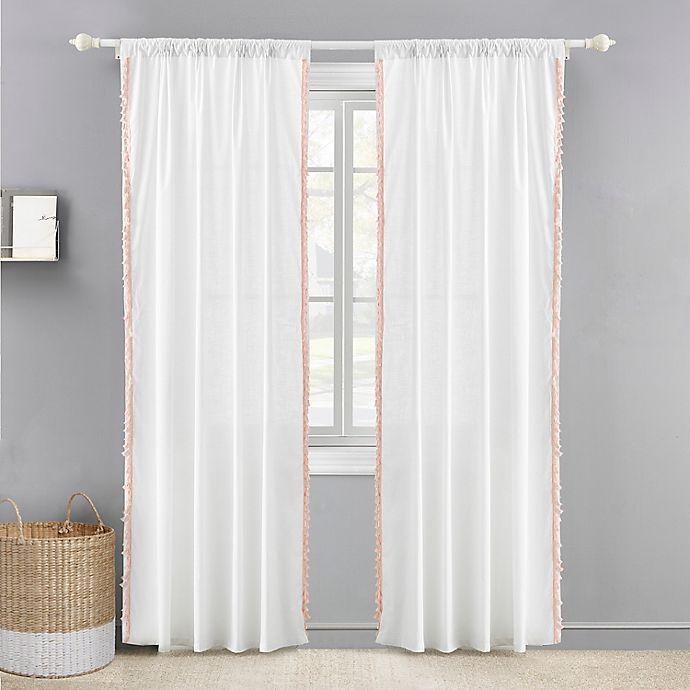 Alternate image 1 for Levtex Baby® Tassel 84-Inch Window Curtain Panel