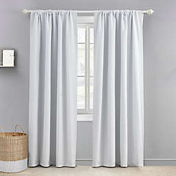 Levtex Baby 84-Inch Blackout Window Curtain Panel in White