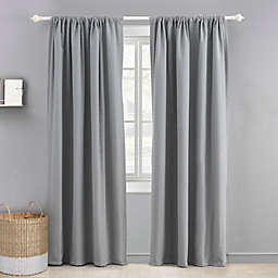 Levtex Baby 84-Inch Blackout Window Curtain Panel in Grey