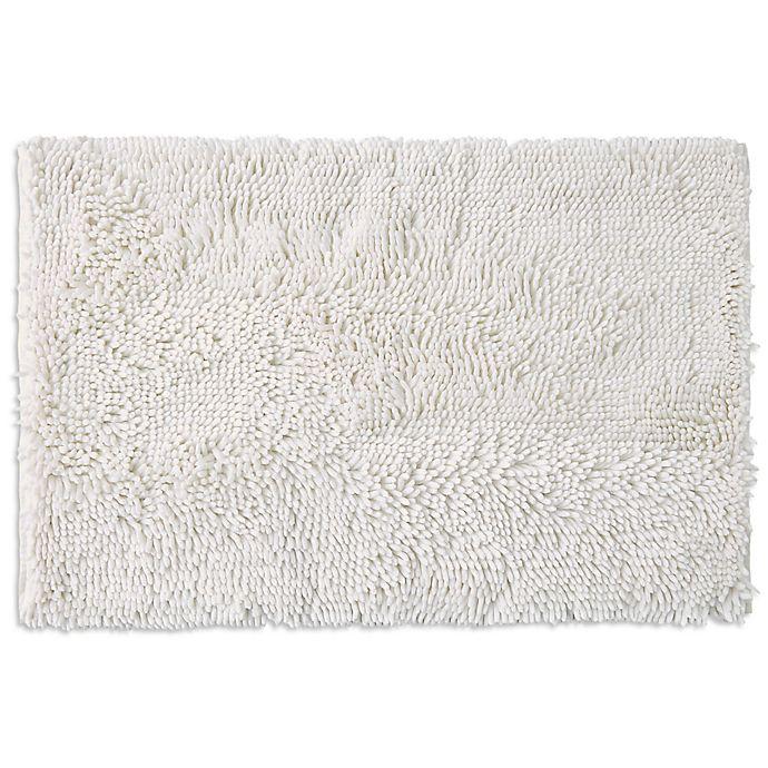 Alternate image 1 for SALT™ Noodle Large Bath Mat in White